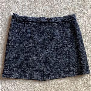 Roxy, black mini skirt